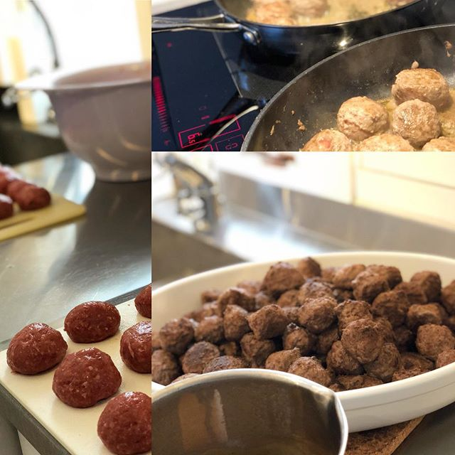 2kg of meatballs
