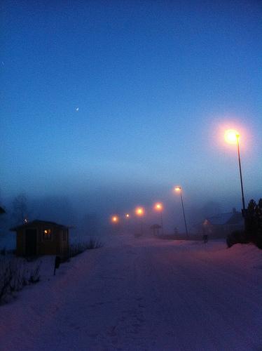 Foggy winter by lars och linda